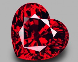 10.47 Cts Mesmerizing Beautiful Lovely Heart Natural Spessartite Garnet