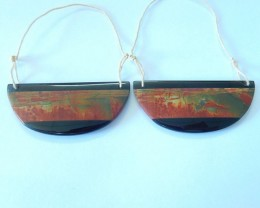 Newest Design,Special Gift For Her,Muti Color Picasso Jasper and Obsidian I
