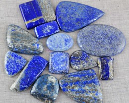 Genuine 1705.00 Cts Untreated Blue Lapis Lazuli Cab Lot