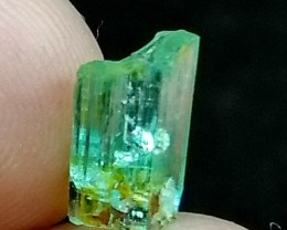 2.00CT Natural - Unheated Green  Emerald Crystal