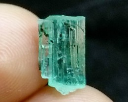 2.90CT Natural - Unheated Green  Emerald Crystal