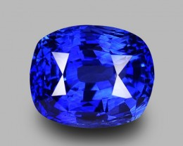 2.34 Cts Certified Natural Sri Lankan Vivid Blue Sapphire