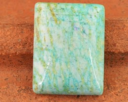 Genuine 29.50 Cts Untreated Amazonite Cab