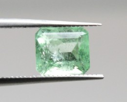 Natural Emerald - 1,11 ct - Gemstone