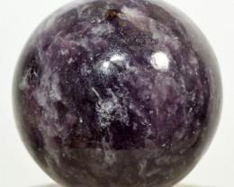 "2.1"" Purple Lepidolite Sphere Flower Sugilite Crystal Brazil STLPBNA88"