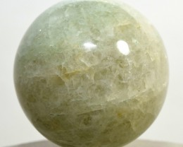 "2.1"" Green Prasiolite Sphere Quartz Crystal Mineral - India STPRB-NN55"