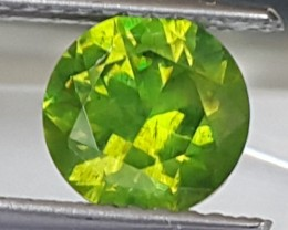 1.50cts, Russian Horsetail Demantoid  Garnet,