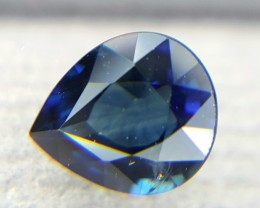 0.74Crt Natural Sapphire Faceted Gemstone (R 63)