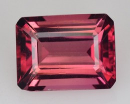 2.44 Cts NATURAL TOURMALINE - BROWNISH PINK - OCTAGON - MOZAMBIQUE