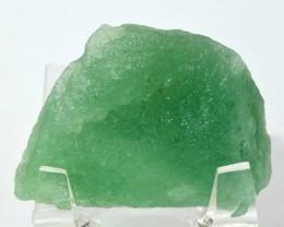 145ct Prasiolite Rough Prasiolite Crystal Mineral Brazil STPQRVV78