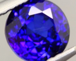 1.16Ct Natural Royal Blue Sapphire Round Cut