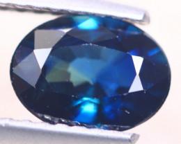 1.38ct Natural Blue Sapphire Oval Cut Lot D520
