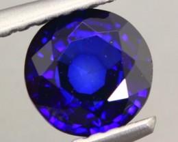 1.12Ct Natural Royal Blue Sapphire Round Cut