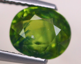 2.94Ct Natural Green Sapphire Oval Cut S160