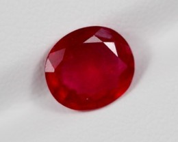 3.20Ct Natural Madagascar Ruby Oval Cut Lot S1440