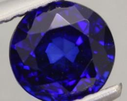1.15Ct Natural Royal Blue Sapphire Round Cut