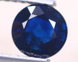 1.07ct Natural Blue Sapphire Round Cut Lot D517