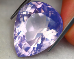 27.98ct Natural Lavender Amethyst Oval Cut Lot D564
