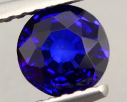 1.18Ct Natural Royal Blue Sapphire Round Cut