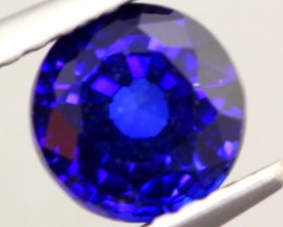 1.06Ct Natural Royal Blue Sapphire Round Cut