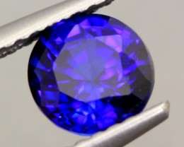 1.13Ct Natural Royal Blue Sapphire Round Cut