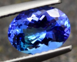 1.14ct Tanzanite Oval Cut Natural Blue Tanzanite