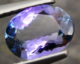 0.66ct Tanzanite Oval Cut Natural Blue Tanzanite