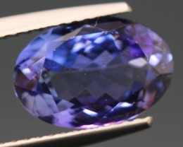 0.78ct Tanzanite Oval Cut Natural Blue Tanzanite