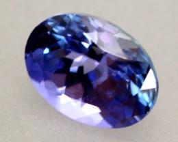 1.58ct Tanzanite Oval Cut Natural Blue Tanzanite