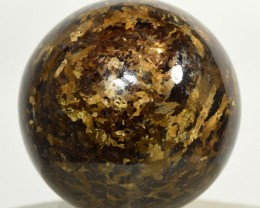 50mm Bronzite Sphere Shimmering Crystal Mineral Ball Africa STBRB-NA45