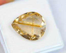 Lot 07 ~ 8.99Ct Natural Golden Needle Rutilated Quartz