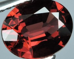 1.70 CTS FINE GENUINE NATURAL ORANGESH RED RHODOLITE GARNET