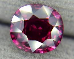 1.93Crt Natural Rhodolite Garnet Faceted Gemstone (R 65)
