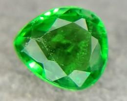 0.22Crt Natural Tsavorite Faceted Gemstone (R 65)