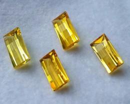 Fantabulous 6.50 Cts Natural Golden Yellow Beryl Fancy-Cut NR!!!