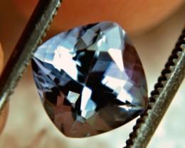 1$NR - 1.83 Carat VVS Purplish Blue African Tanzanite - Gorgeous