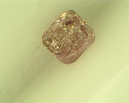 0.11ct Fancy Light Pink  Diamond , 100% Natural Untreated