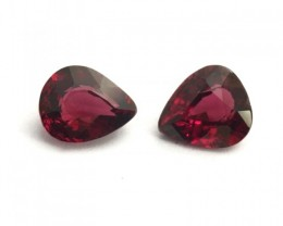 Natural Unheated Garnet Pair |Loose Gemstone|New| Sri Lanka