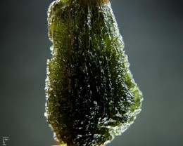 Big Natural Moldavite - with Certifikate - quality A+