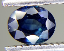 0.57 Crt Natural Sapphire Faceted Gemstone (M 66)