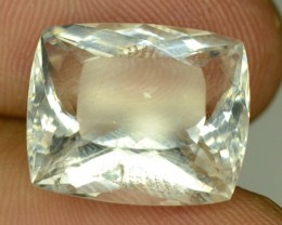 Rare 10.55 ct Natural Kunar Pollucite Collector's Gem