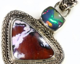 40.85 CTS TIFFANY PENDANT  AND OPAL -FACTORY DIRECT [SJ4625]