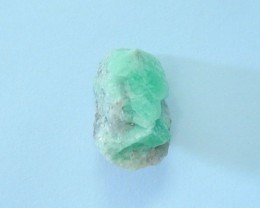 21.5ct Natural Emerald Rough,Heated Treatment(17090805)