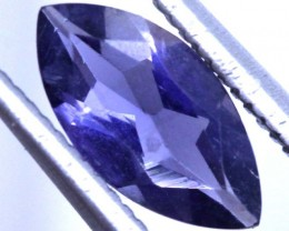 0.8 CTS TANZANITE FACETED BLUISH VIOLET  RNG-446