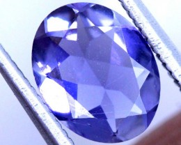 1.1 CTS TANZANITE FACETED BLUISH VIOLET  RNG-448