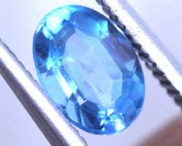 1.15 CTS BLUE FACETED ZIRCON CAMBODIA PARCEL RNG-450