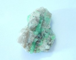 45ct Natural Emerald Rough Heated Treatment(17090810)