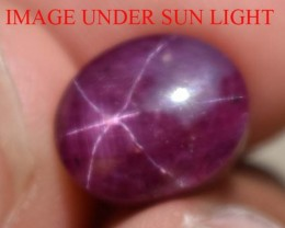 7.26 Ct Star Ruby CERTIFIED Beautiful Natural Unheated & Untreated