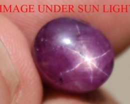 7.02 Ct Star Ruby CERTIFIED Beautiful Natural Unheated & Untreated