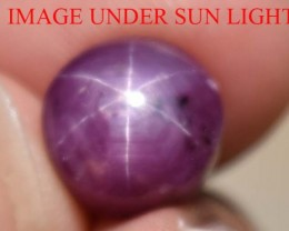 7.95  Ct Star Ruby CERTIFIED Beautiful Natural Unheated & Untreated